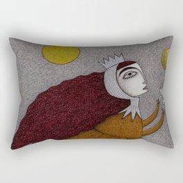 Frogking (1) Rectangular Pillow