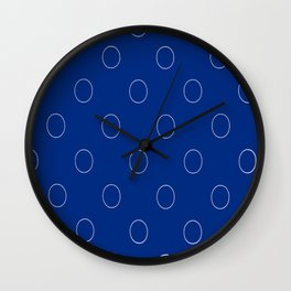 Poka Dots Wall Clock