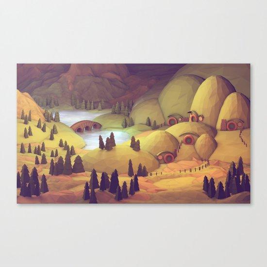Hobbiton  Canvas Print