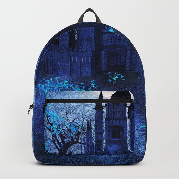 Blue autumn. Backpack