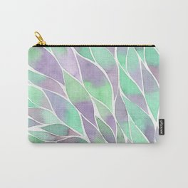 Feathers painting watercolors Carry-All Pouch