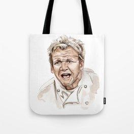 Gordon Ramsay - It's RAW Illustration Tote Bag