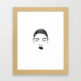 Hustla Framed Art Print