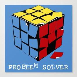 Problem Solver Canvas Print