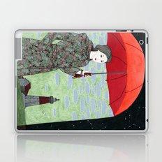 Red Umbrella Laptop & iPad Skin