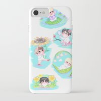 shinee iPhone & iPod Cases featuring SHINee Flowers by sophillustration