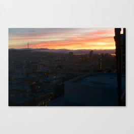 Sutro Sundown Canvas Print