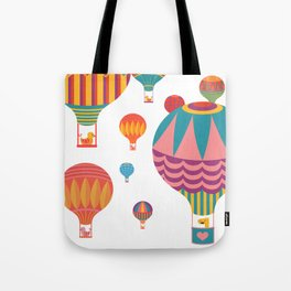 Air Balloons Tote Bag