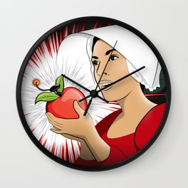 Blasted be the Fruit Wall Clock