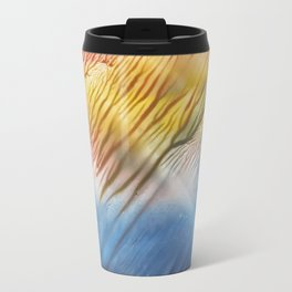 The Wind - abstract landscape watercolor monotype Travel Mug