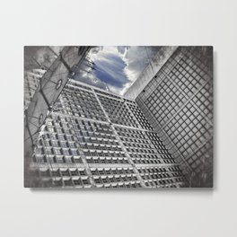 Arche de la Défense Paris [Sky cut N°421] France Metal Print