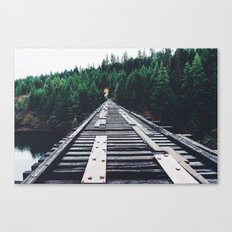 Pnw Bridge Canvas Print