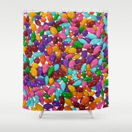 Candy Covered Sunflower Seeds Shower Curtain