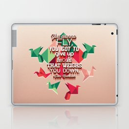 toni morrison  Laptop & iPad Skin