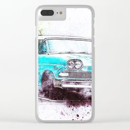 Car Old Oldtimer Clear iPhone Case