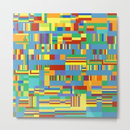 Chromatetude (Candy Colours) Metal Print