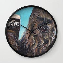 Brewbacca Wall Clock