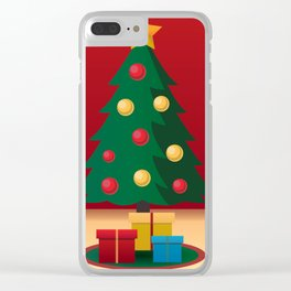 A icon of Christmas Clear iPhone Case