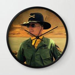 Robert Duvall @ Apocalypse Now Wall Clock