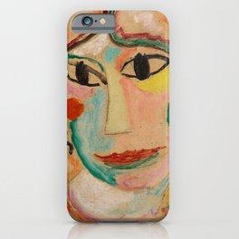 Alexej von Jawlensky - Mystischer Kopf - Mystical Head iPhone Case