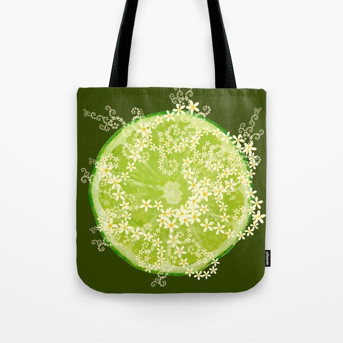 02a493d1b0a76 Key Lime Surprise Tote Bag