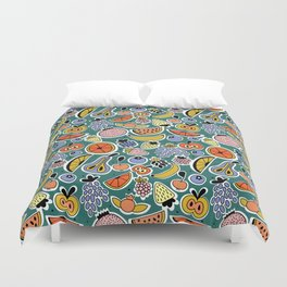 Fruity pattern Duvet Cover