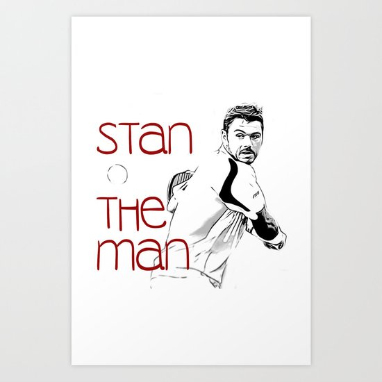 Stan the Man by dropshotdimestore
