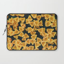 Yellow Tulips From Above Laptop Sleeve