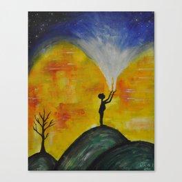 The Birth of Change Canvas Print