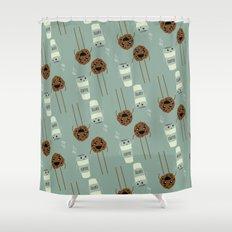 COFFEE & COOKIE Shower Curtain