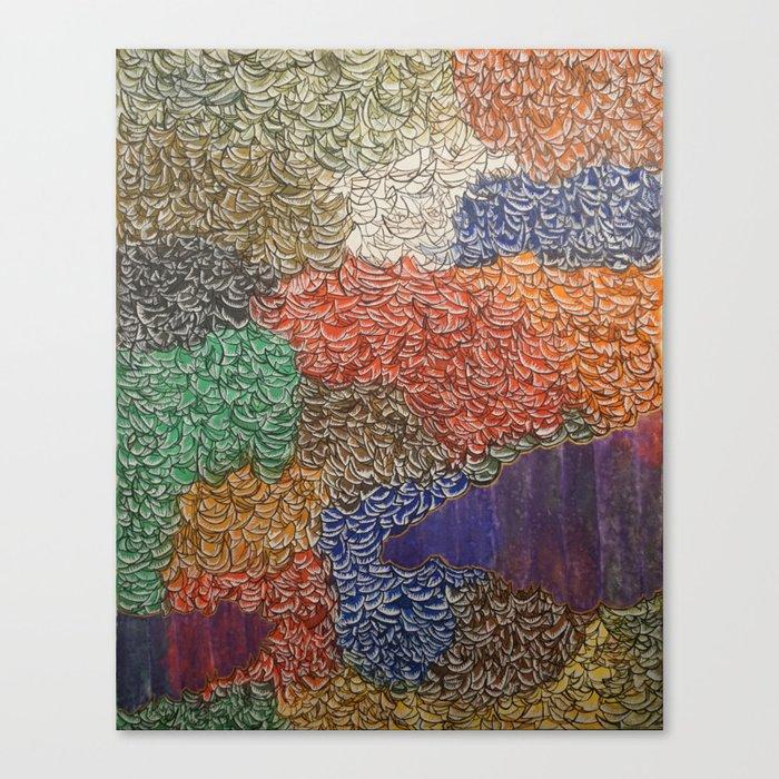 10,000 Leaves Canvas Print