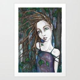 Tree People 1 Art Print