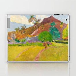 Tahitian Landscape by Paul Gauguin Laptop & iPad Skin