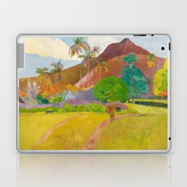 Tahitian Landscape by Paul Gauguin Laptop & iPad Skin