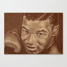 round 7...mike tyson Canvas Print