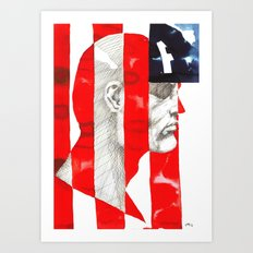 Oh, Captain. My Captain. Art Print