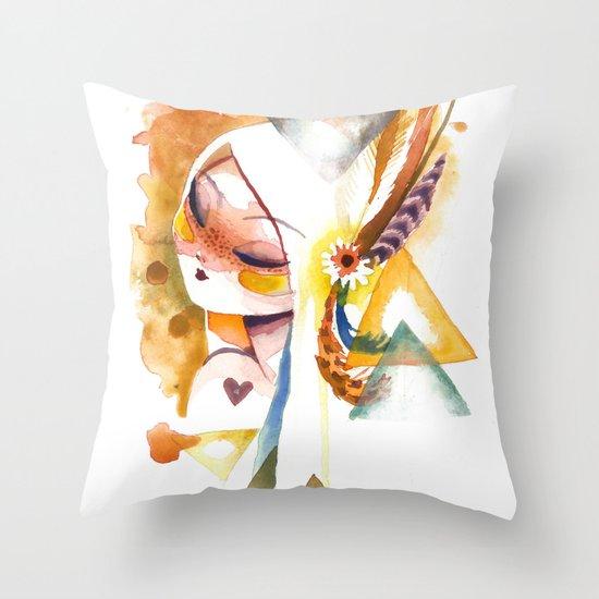 wilt Throw Pillow