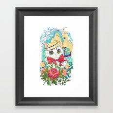 Sailor Kitty Framed Art Print