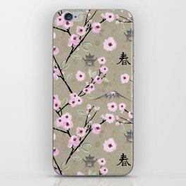 Japanese Spring iPhone Skin