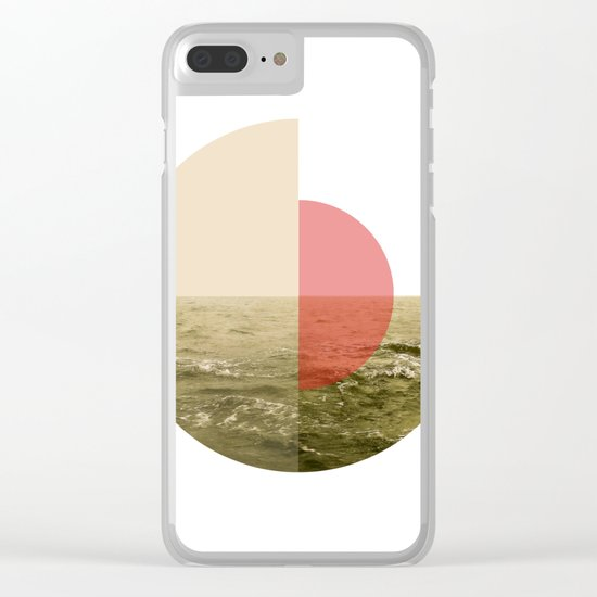 The Ocean is Calling Clear iPhone Case