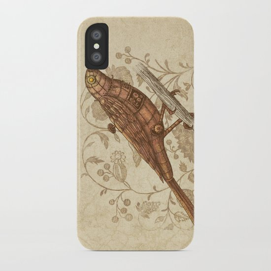 Steampunk Songbird  iPhone Case