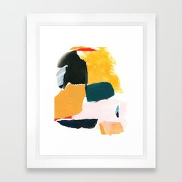 collage studies 18-02 Framed Art Print