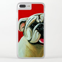 Farley Clear iPhone Case