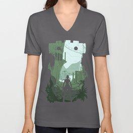 Lara Croft Unisex V-Neck