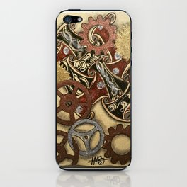 Steampunk Zentangle iPhone Skin
