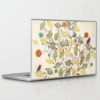 autumn Laptop & iPad Skins featuring Autumn by Kakel