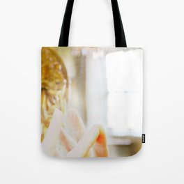 Reflection and connection Tote Bag
