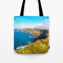 The Cliffs of Moher Tote Bag