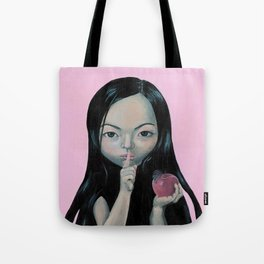 Silence, is the best treatment for things the world should care less about Tote Bag