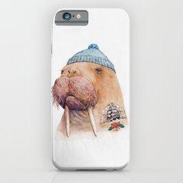 Tattooed Walrus iPhone Case